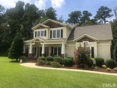 Johnston County Rental For Rent: 81 Poston Court