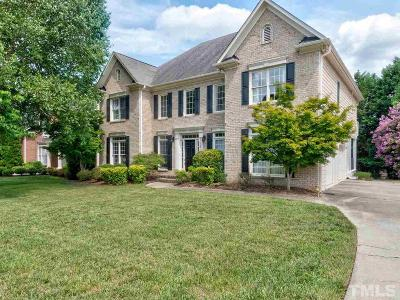 Raleigh Single Family Home For Sale: 12408 Cilcain Court