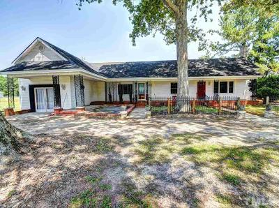 Johnston County Single Family Home For Sale: 215 Old Stancil Road