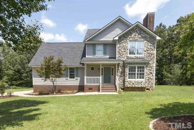 Angier Single Family Home For Sale: 262 Bluegrass Court