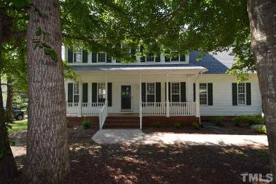 Johnston County Rental For Rent: 140 Gasper Court