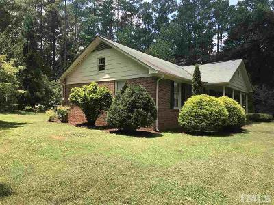 Pittsboro Single Family Home For Sale: 1057 Nc 87 Highway