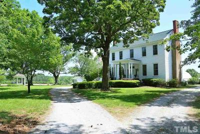 Louisburg Single Family Home For Sale: 1028 May Road