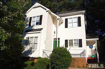 Wake County Rental For Rent: 1600 Nesfield Place
