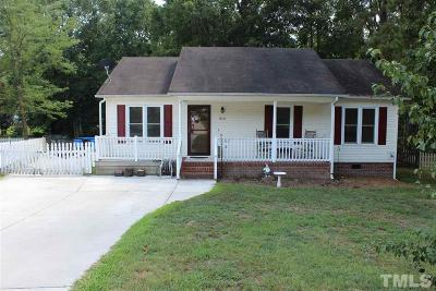 Wendell Single Family Home For Sale: 212 Redberry Drive