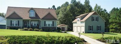 Clayton Single Family Home For Sale: 101 Redbud Drive