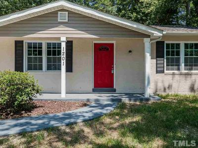 Raleigh Single Family Home For Sale: 1201 Armstrong Circle