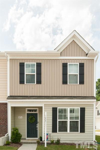 Raleigh Townhouse For Sale: 8954 Commons Townes Drive