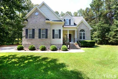 Clayton Single Family Home For Sale: 95 Montpelier Lane