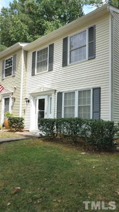 Cary Townhouse For Sale: 217 Rosebrooks Drive