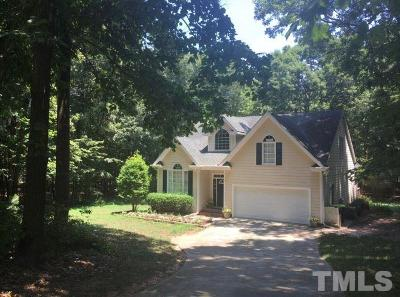 Wake Forest Single Family Home For Sale: 1408 Tracker Trace Court