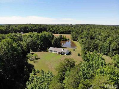 Rougemont Single Family Home For Sale: 1500 Tilley Farm Road