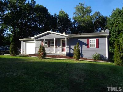 Durham Single Family Home For Sale: 615 Belgreen Road