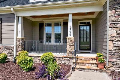 Raleigh Single Family Home For Sale: 1229 Tavernier Knoll Lane