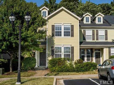 Cary NC Townhouse For Sale: $260,000