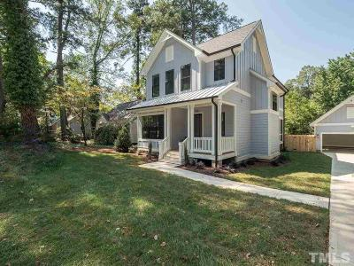 Raleigh Single Family Home For Sale: 1215 Brookside Drive
