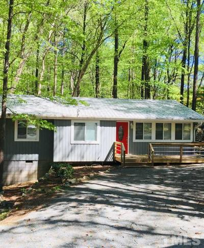 Chapel Hill Single Family Home For Sale: 400 Piney Mountain Road