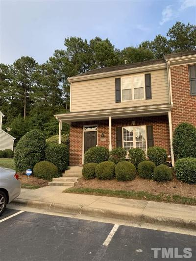 Raleigh Townhouse For Sale: 9030 Grassington Way