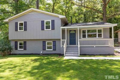 Raleigh Single Family Home For Sale: 1104 Chatham Lane
