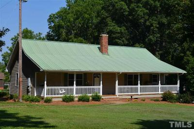 Chatham County Single Family Home For Sale: 183 & 215 Isaac Drive