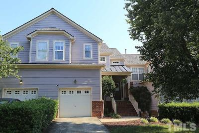 Raleigh Townhouse For Sale: 10402 Shadowlawn Drive