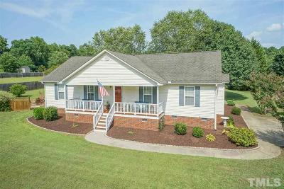 Clayton Single Family Home For Sale: 25 Cabin Bar Drive
