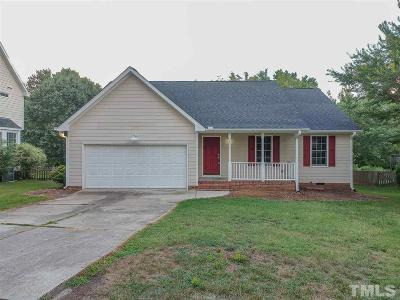 Knightdale Rental For Rent: 811 Trail Stream Way
