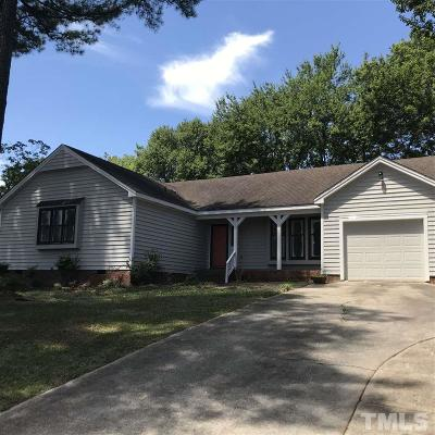 Wake County Single Family Home Pending: 6401 Valley Estates Drive