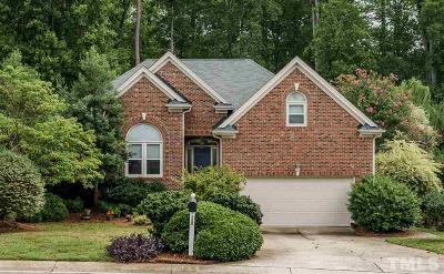 Raleigh Single Family Home Contingent: 1920 Amity Hill Court
