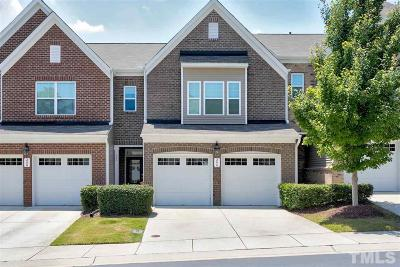 Cary NC Townhouse For Sale: $300,000