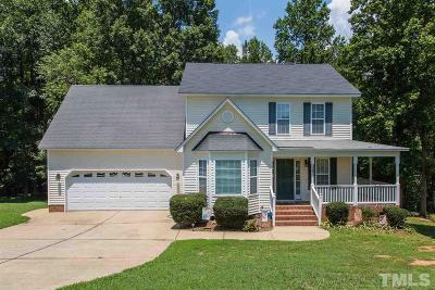Clayton Single Family Home For Sale: 147 Hay Field Drive