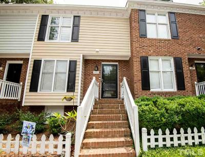 Raleigh Townhouse For Sale: 3603 Plumbridge Court