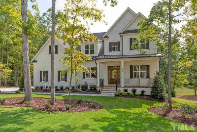 Wake Forest NC Single Family Home For Sale: $849,000
