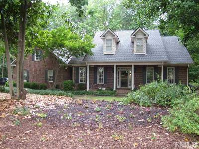 Zebulon Single Family Home For Sale: 2449 Village Of Wakefield Drive