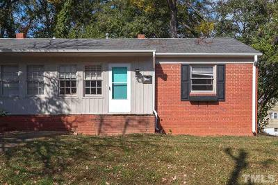 Raleigh Rental For Rent: 100 W Aycock Street