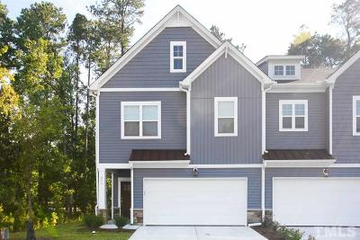 Cary Townhouse For Sale: 265 Vista Creek Place