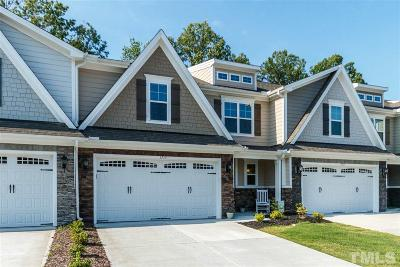 Wake Forest Townhouse For Sale: 1715 Grandmaster Way