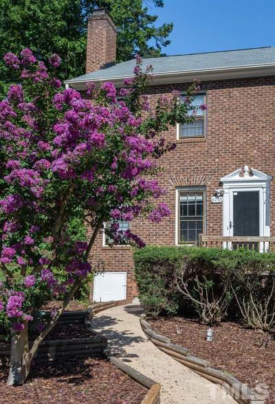 Townhouse For Sale: 6235 Waterside Lane