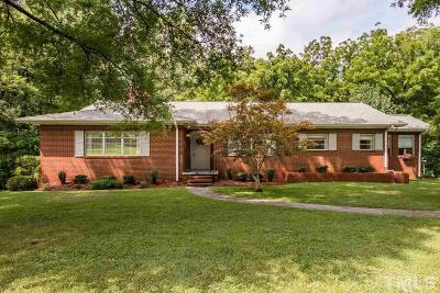 Pittsboro Single Family Home For Sale: 821 Nc Highway 87