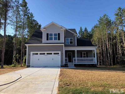 Zebulon Single Family Home For Sale: 257 Fender Drive