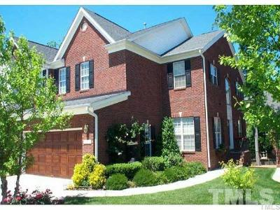 Morrisville Townhouse For Sale: 131 Grande Drive