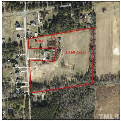 Wendell Residential Lots & Land For Sale: Pleasants Road