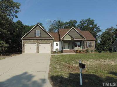 Angier Single Family Home For Sale: 41 Eaton Drive