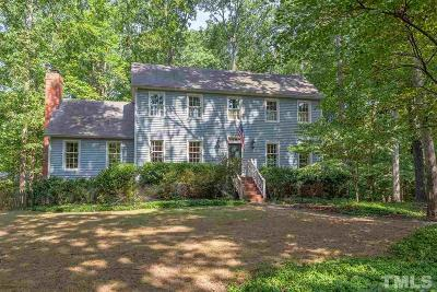 Chapel Hill Single Family Home For Sale: 624 Wells Court
