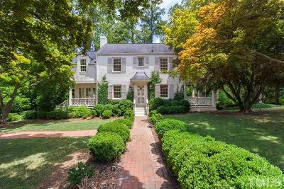 Raleigh Single Family Home Contingent: 1408 Canterbury Road