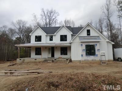 Knightdale Single Family Home Pending: 1920 Hutchinson Street