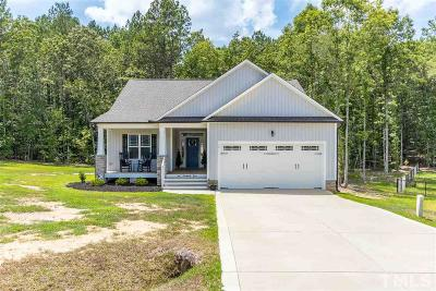 Zebulon Single Family Home For Sale: 605 Cotton Mill Drive