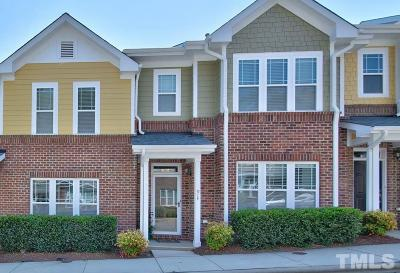 Cary Townhouse For Sale: 914 Morris Dale Lane