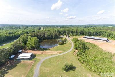 Wake County, Durham County, Orange County, Chatham County Single Family Home For Sale: 160 Log Cabin Road