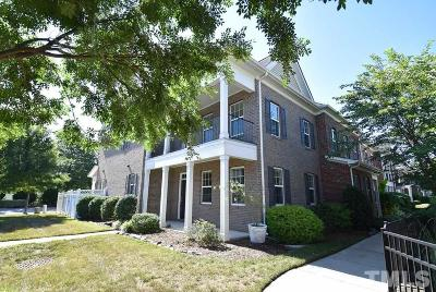Raleigh Townhouse For Sale: 2712 Cloud Mist Circle